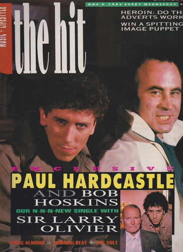 The Hit Magazine - Marc almond soft cell  Bob Hoskins