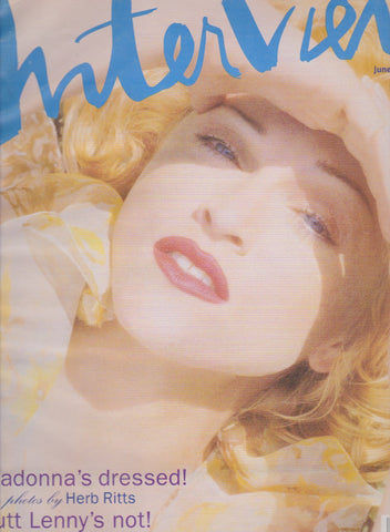 Interview Magazine - Madonna