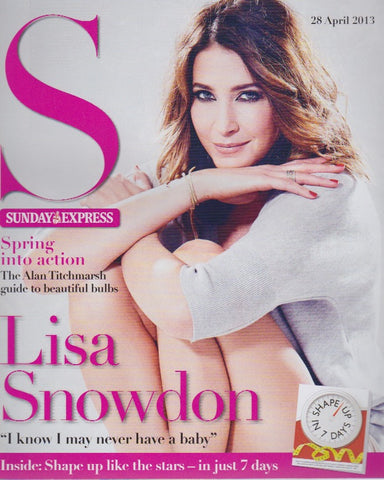 Express Magazine - Lisa Snowdon