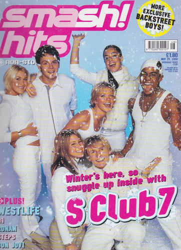 Smash Hits Magazine 2000 - S Club 7