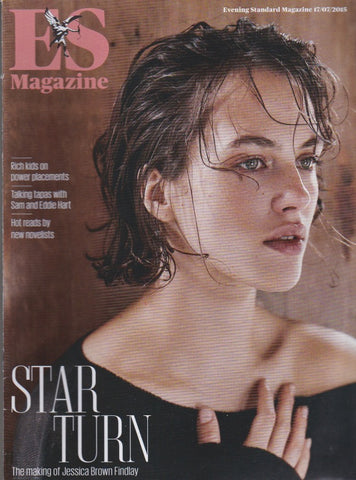 ES Magazine - Jessica Brown Findlay
