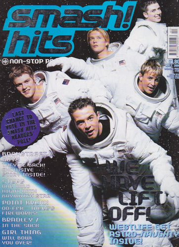 Smash Hits Magazine 2000 - Westlife