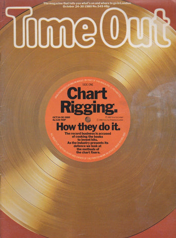 Time Out Magazine - Chart Rigging