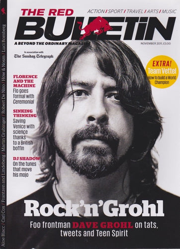 Red Bulletin Magazine - Dave Grohl The Foo Fighters