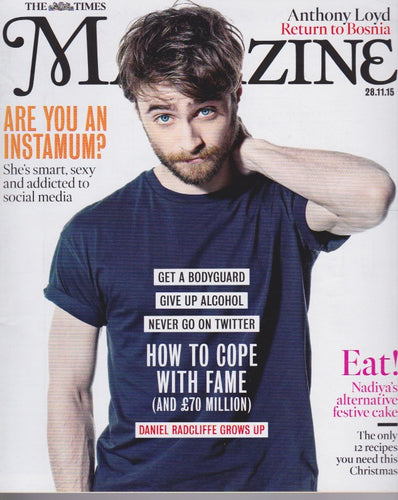The Times Magazine - Daniel Radcliffe