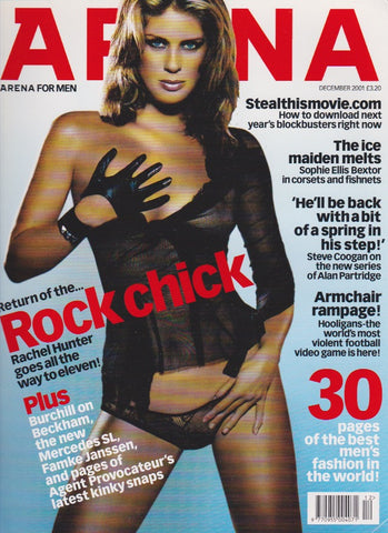 Arena Magazine 117 - Rachel Hunter 2001