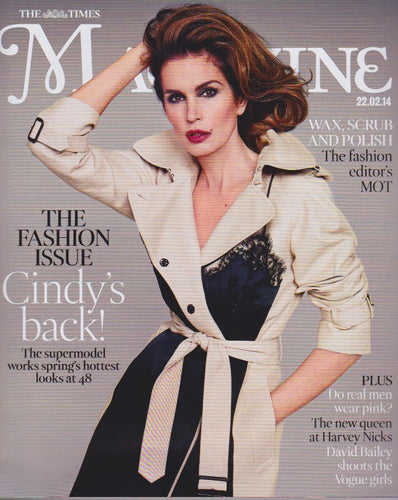 The Times Magazine - Cindy Crawford