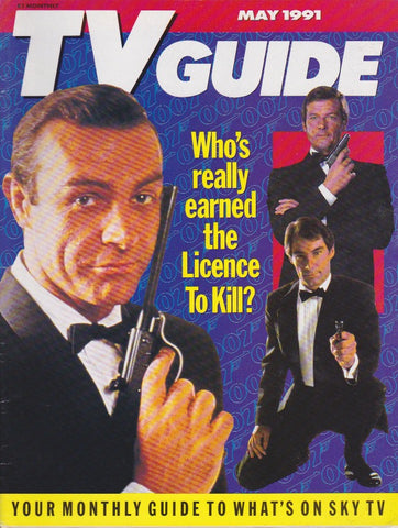 TV Guide Magazine - James Bond