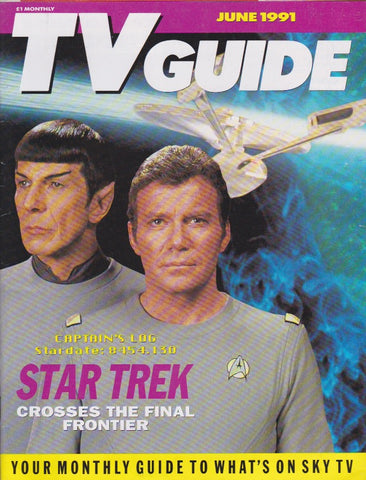 TV Guide Magazine - Star Trek
