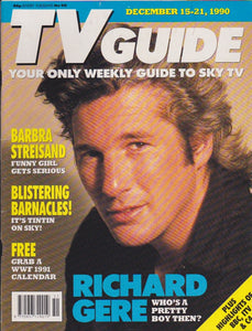 TV Guide Magazine - Richard Gere