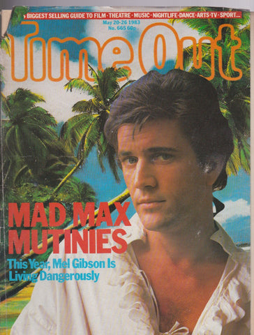 Time Out Magazine - Mel Gibson