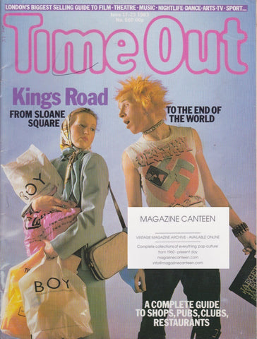 Time Out Magazine - London Kings Road