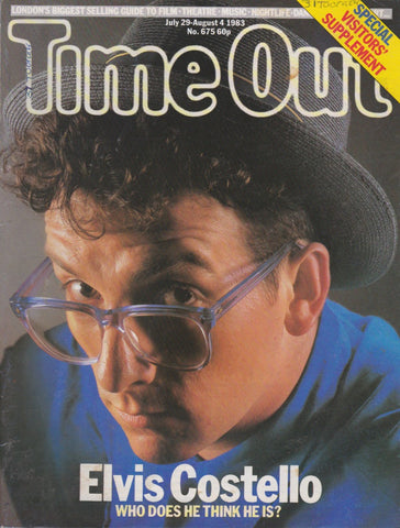 Time Out Magazine - Elvis Costello