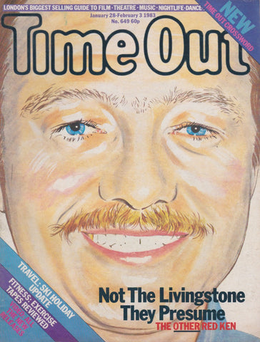 Time Out Magazine - Ken Livingstone
