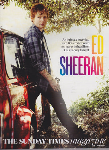 Sunday Times Magazine - Ed Sheeran
