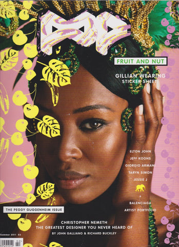 POP Magazine 24 - Naomi Campbell