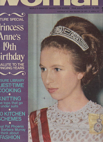 Woman Magazine - Princess Anne