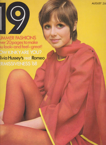 19 Magazine - Includes Olivia Hussey
