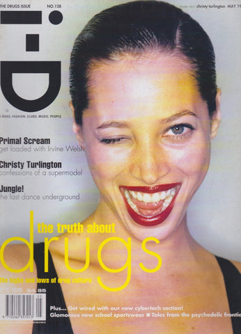 I-D Magazine 128 - Christy Turlington 1994