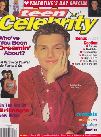 Teen Celebrity - Nick Carter