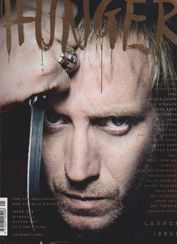Hunger Magazine Issue 1 - Rhys Ifans