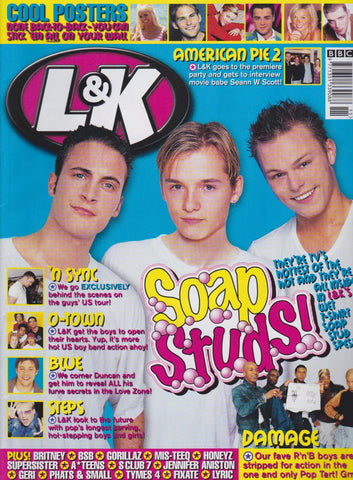 Live and Kicking Magazine - Soap Studs