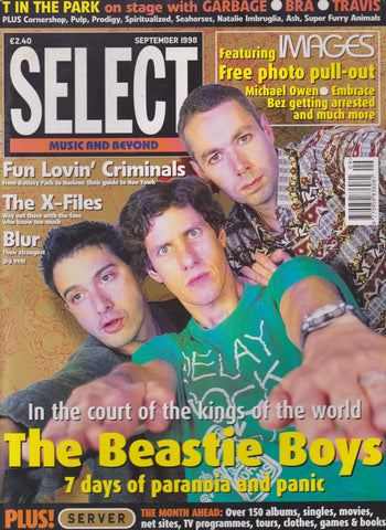 Select Magazine - The Beastie Boys