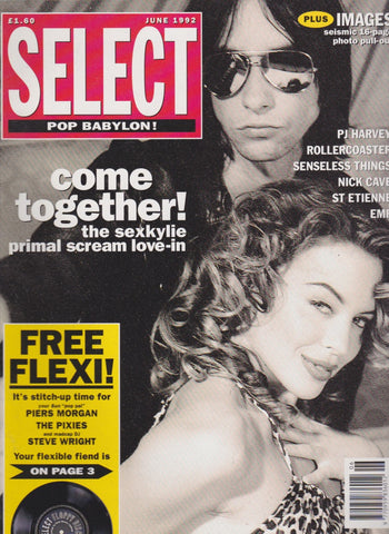 Select Magazine - Kylie Minogue Primal Scream