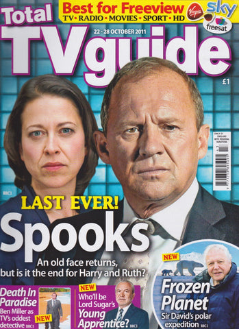 TV Guide Magazine - Spooks