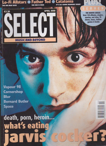 Select Magazine - Jarvis Cocker