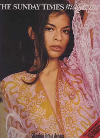 The Sunday Times Magazine - Bianca Jagger