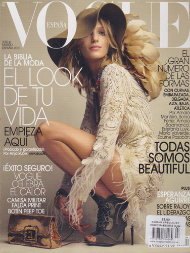 Vogue Spain Magazine - 2010 - Anja Rubik