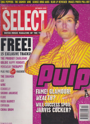 Select Magazine - Jarvis Cocker Pulp