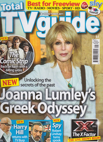 TV Guide Magazine - Joanna Lumley
