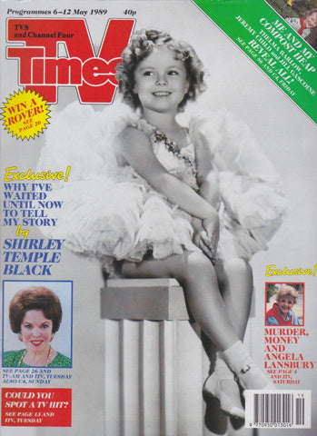 TV Times Magazine - Shirley Temple