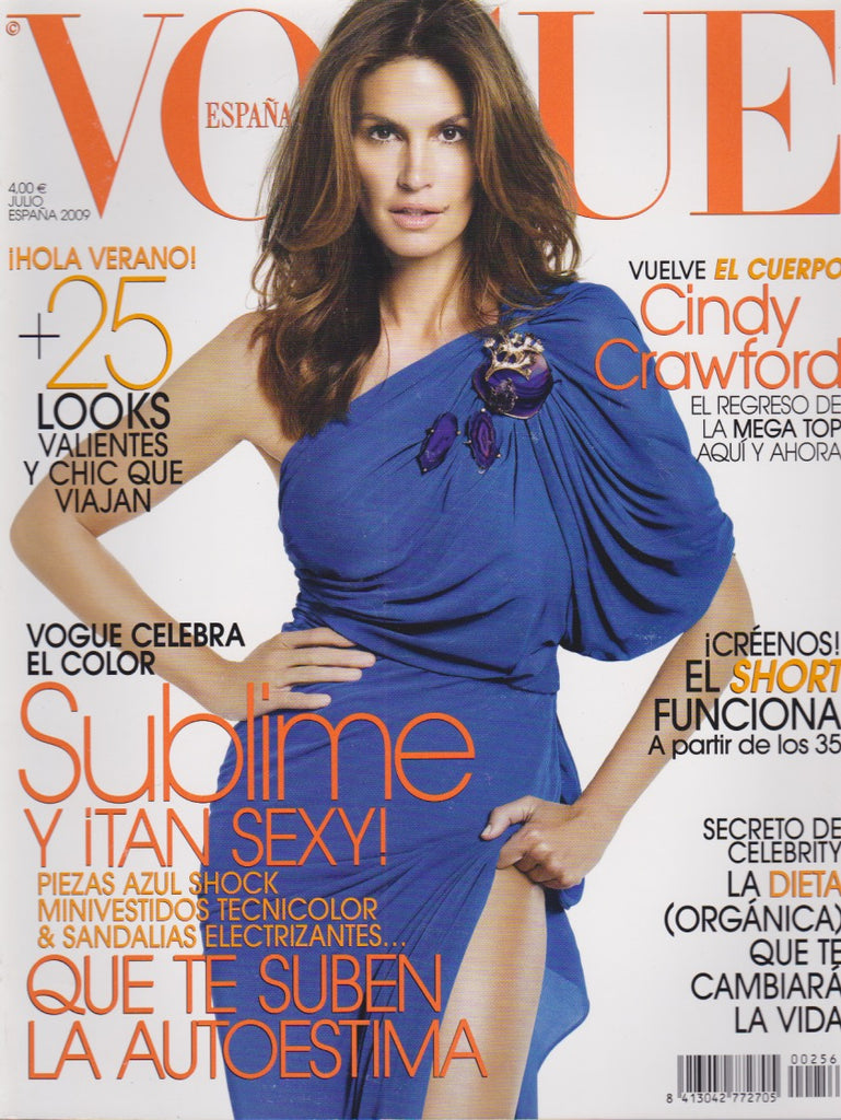 Vogue Spain Magazine - Cindy Crawford