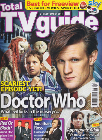 TV Guide Magazine -  Doctor Who