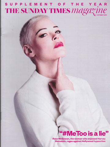 Sunday Times Magazine - Rose McGowan