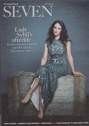 Seven Magazine - Jessica Brown Findlay