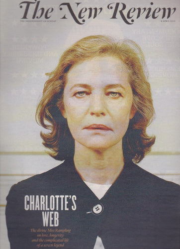 New Review Magazine - Charlotte Rampling