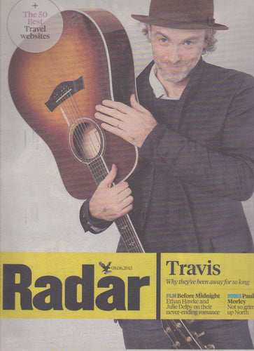 Radar Magazine - Fran Healy Travis
