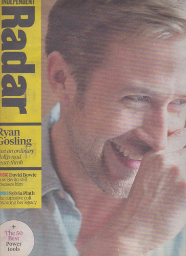 Radar Magazine - Ryan Gosling