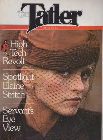 Tatler Magazine - Elaine Stritch