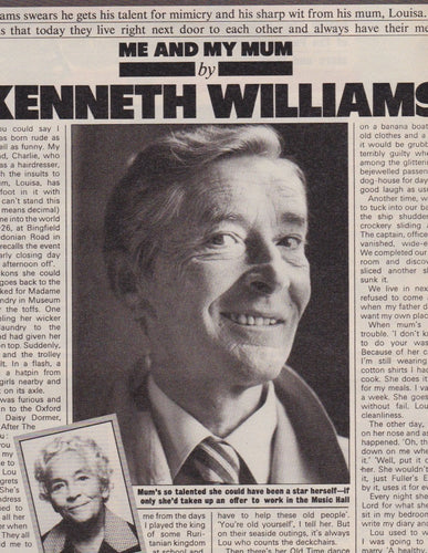 Magazine - Kenneth Williams - Dexys midnight runners