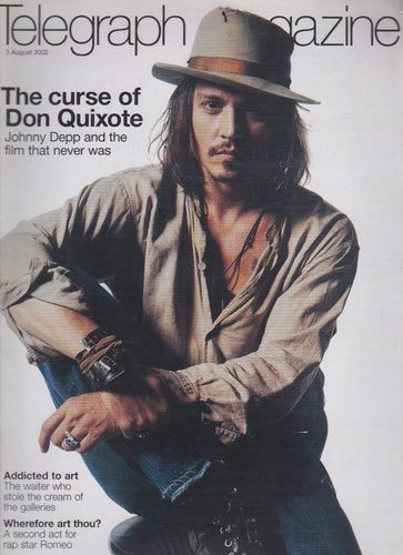 The Telegraph Magazine - Johnny Depp so solid crew