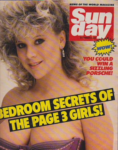 News Of The World Magazine - Samantha Fox
