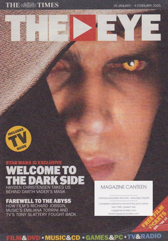 The Eye Magazine - Hayden Christensen