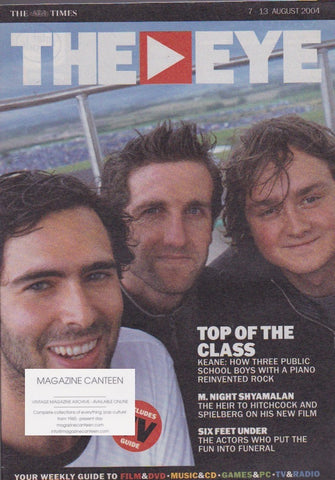 The Eye Magazine - Keane