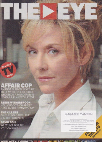 The Eye Magazine - Amanda Burton