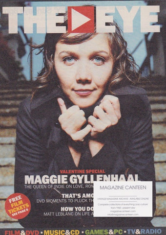 The Eye Magazine - Maggie Gyllenhaal